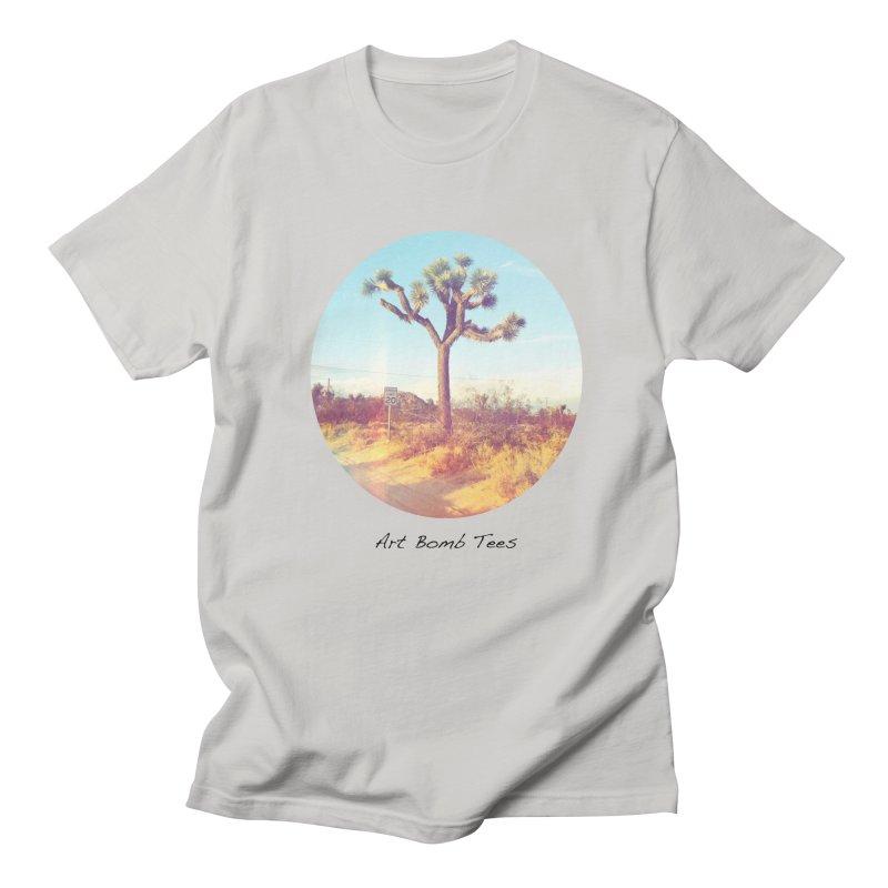 Desert Roads - Circular Men's Regular T-Shirt by artbombtees's Artist Shop