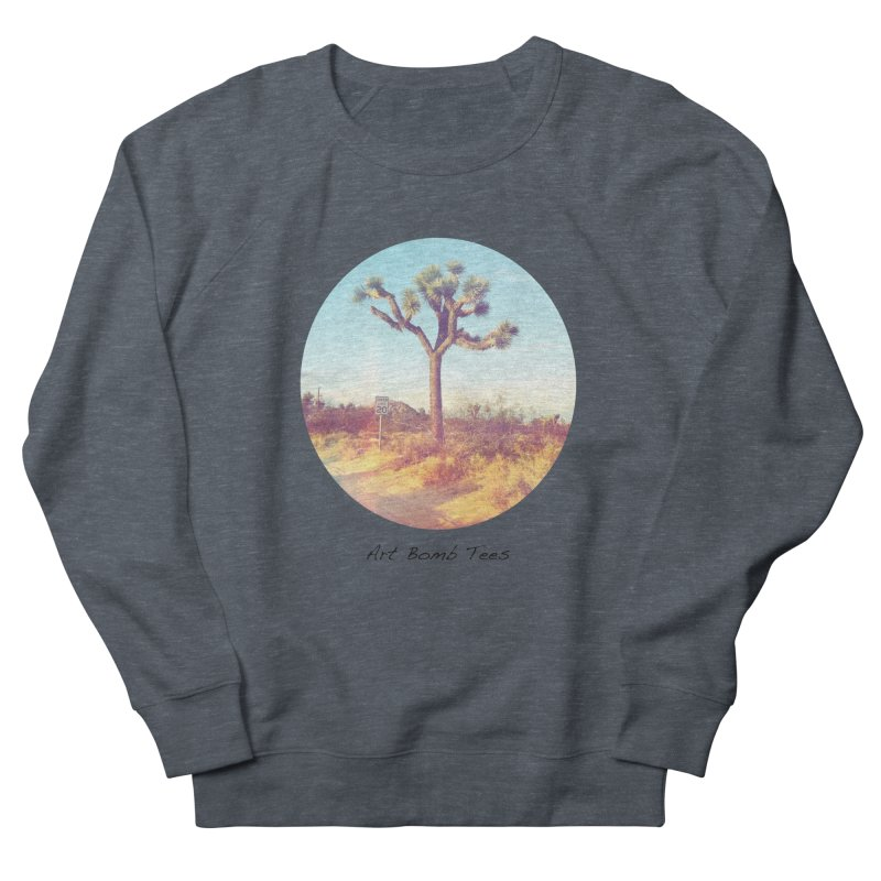 Desert Roads - Circular Women's French Terry Sweatshirt by artbombtees's Artist Shop