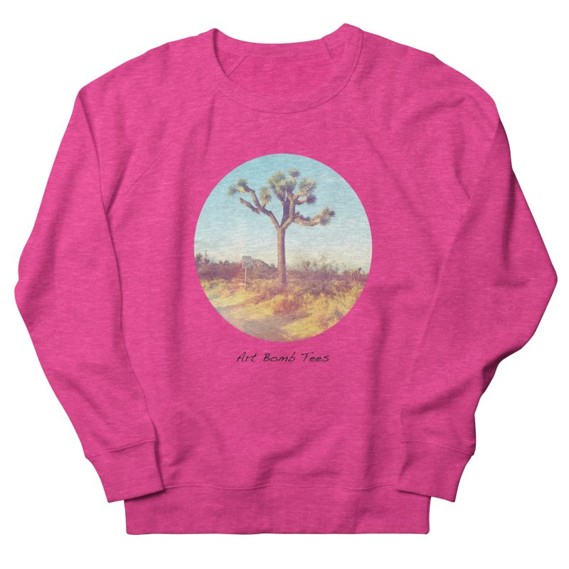 Desert Roads - Circular Women's Sweatshirt by artbombtees's Artist Shop
