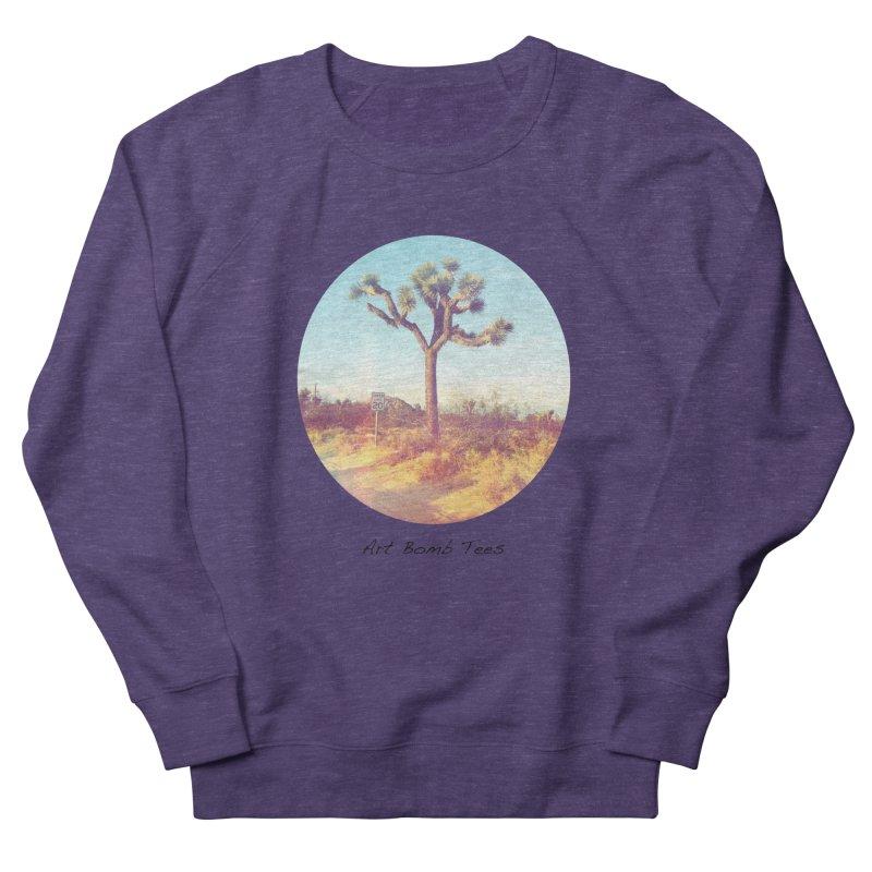 Desert Roads - Circular Men's Sweatshirt by artbombtees's Artist Shop