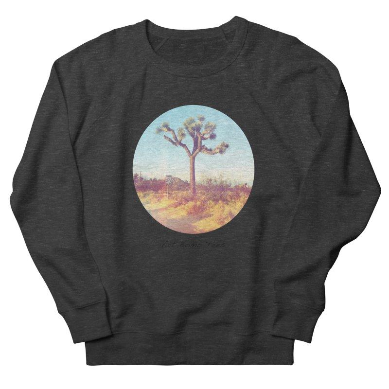 Desert Roads - Circular Men's French Terry Sweatshirt by artbombtees's Artist Shop