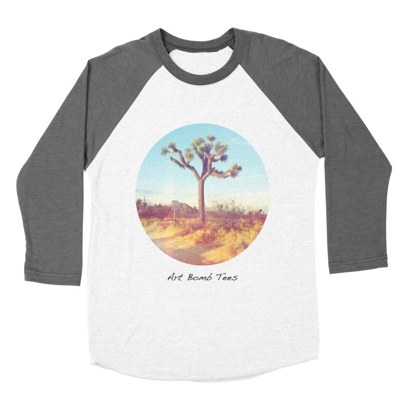 Desert Roads - Circular Women's Baseball Triblend T-Shirt by artbombtees's Artist Shop