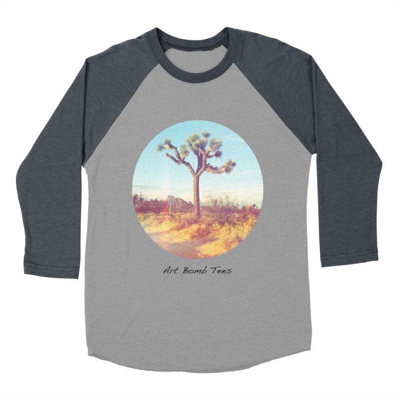 Desert Roads - Circular Women's Baseball Triblend T-Shirt by artbombtees's Artist Shop