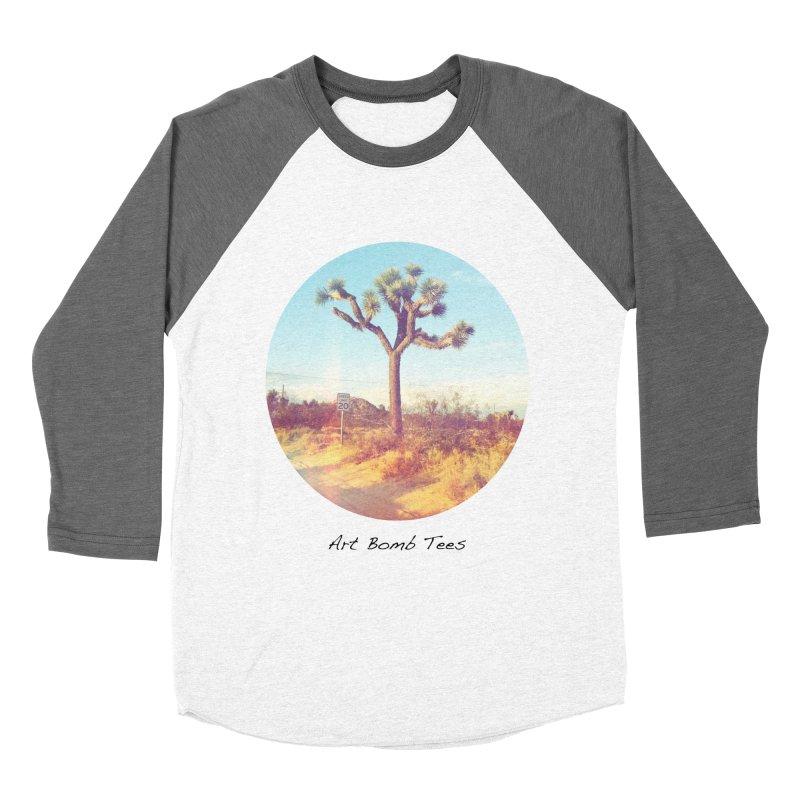 Desert Roads - Circular Men's Baseball Triblend T-Shirt by artbombtees's Artist Shop