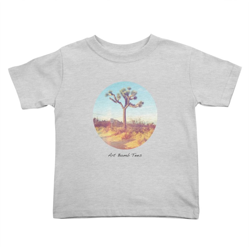 Desert Roads - Circular Kids Toddler T-Shirt by artbombtees's Artist Shop