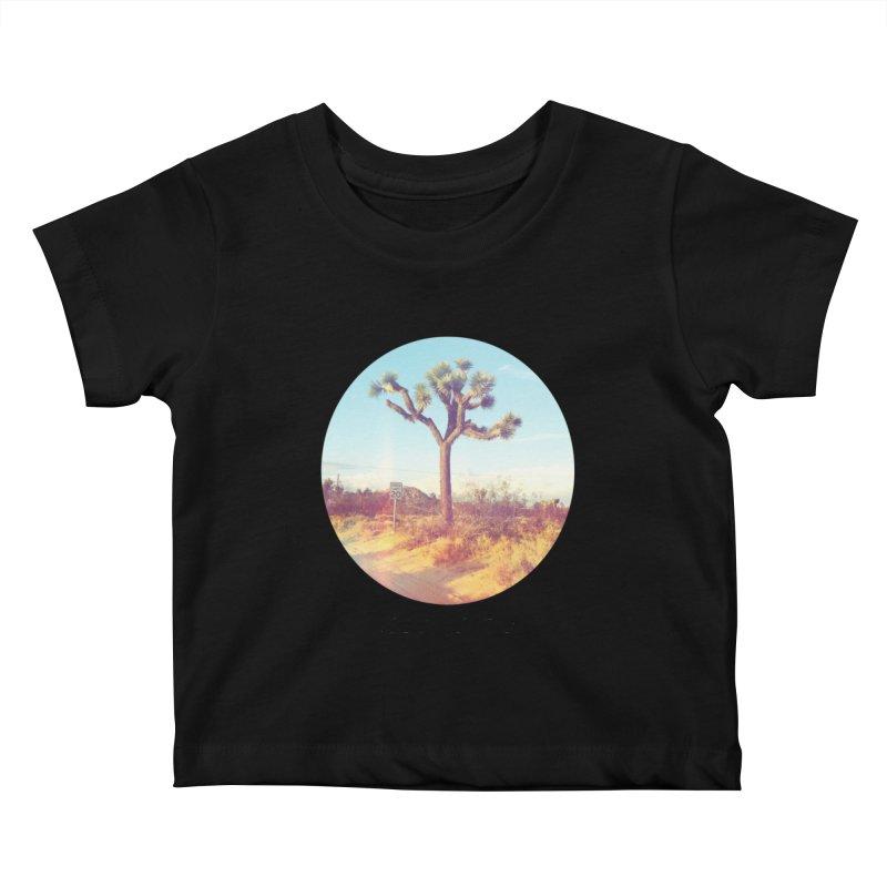Desert Roads - Circular Kids Baby T-Shirt by artbombtees's Artist Shop