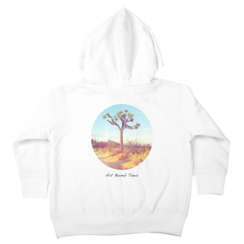 Desert Roads - Circular Kids Toddler Zip-Up Hoody by artbombtees's Artist Shop