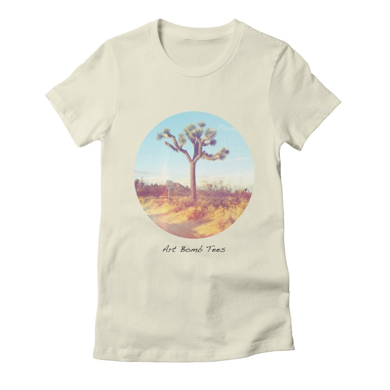 Desert Roads - Circular Women's T-Shirt by artbombtees's Artist Shop