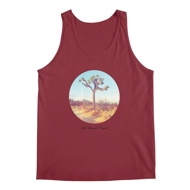 Desert Roads - Circular Men's Regular Tank by artbombtees's Artist Shop