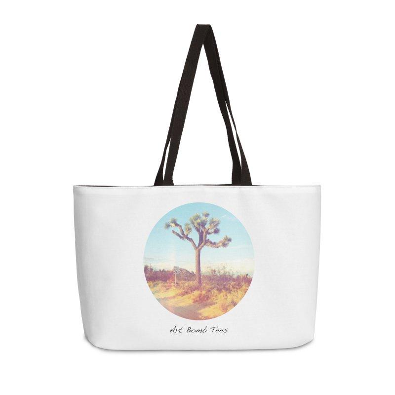 Desert Roads - Circular Accessories Bag by artbombtees's Artist Shop