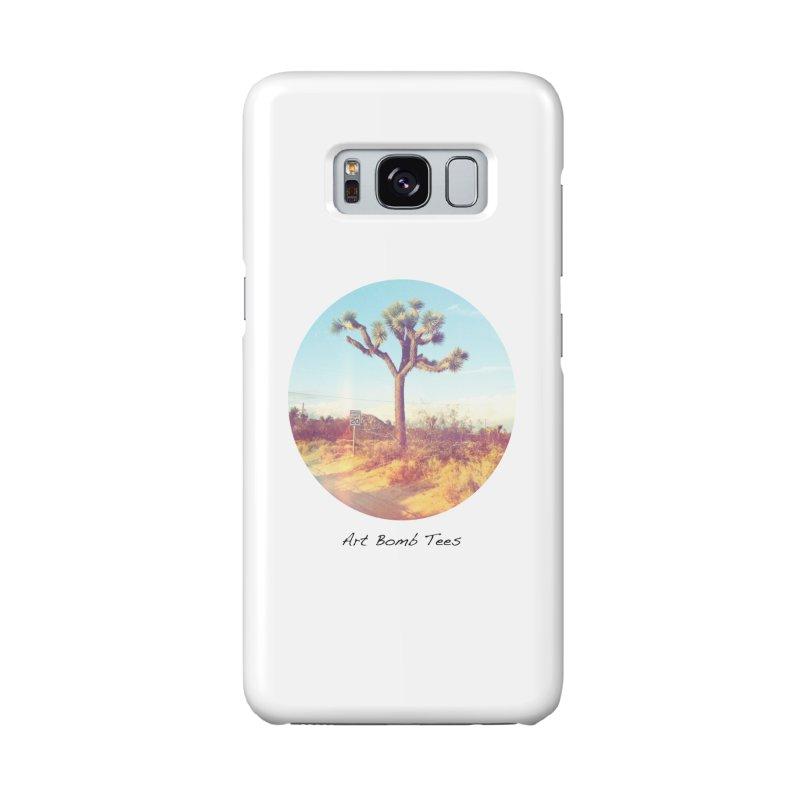 Desert Roads - Circular Accessories Phone Case by artbombtees's Artist Shop