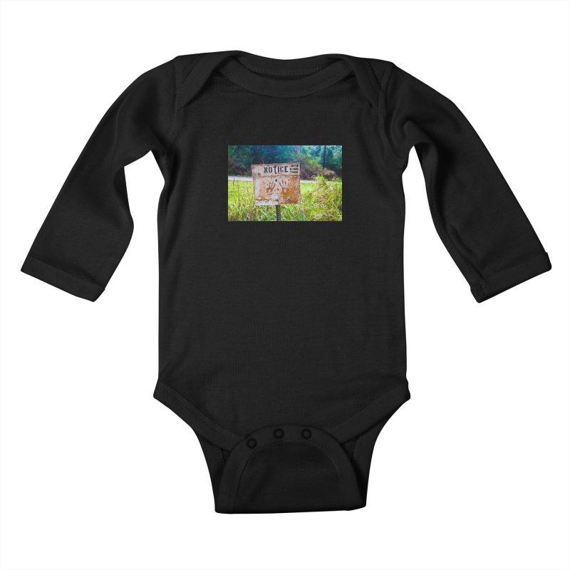 Notice: Art Bomb Tees Kids Baby Longsleeve Bodysuit by artbombtees's Artist Shop