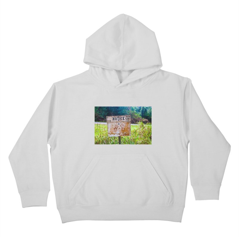 Notice: Art Bomb Tees Kids Pullover Hoody by artbombtees's Artist Shop