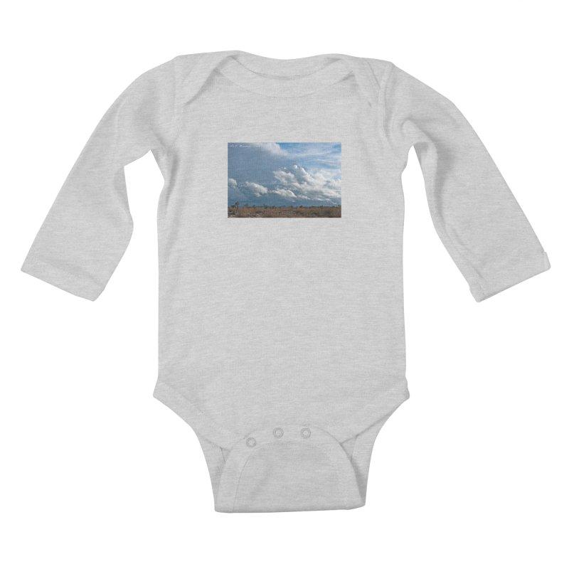 Wanderlust Kids Baby Longsleeve Bodysuit by artbombtees's Artist Shop