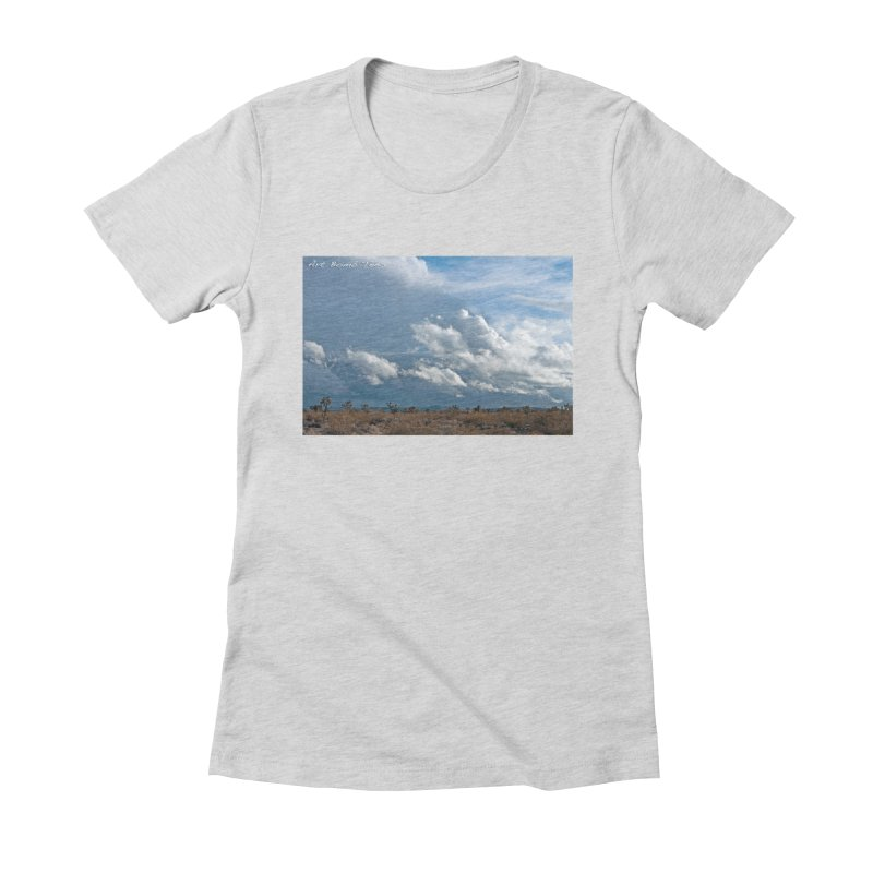 Wanderlust in Women's Fitted T-Shirt Heather Grey by artbombtees's Artist Shop