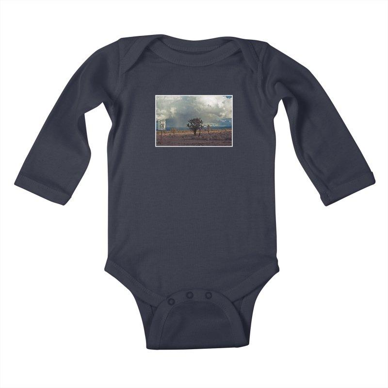 55 Kids Baby Longsleeve Bodysuit by artbombtees's Artist Shop