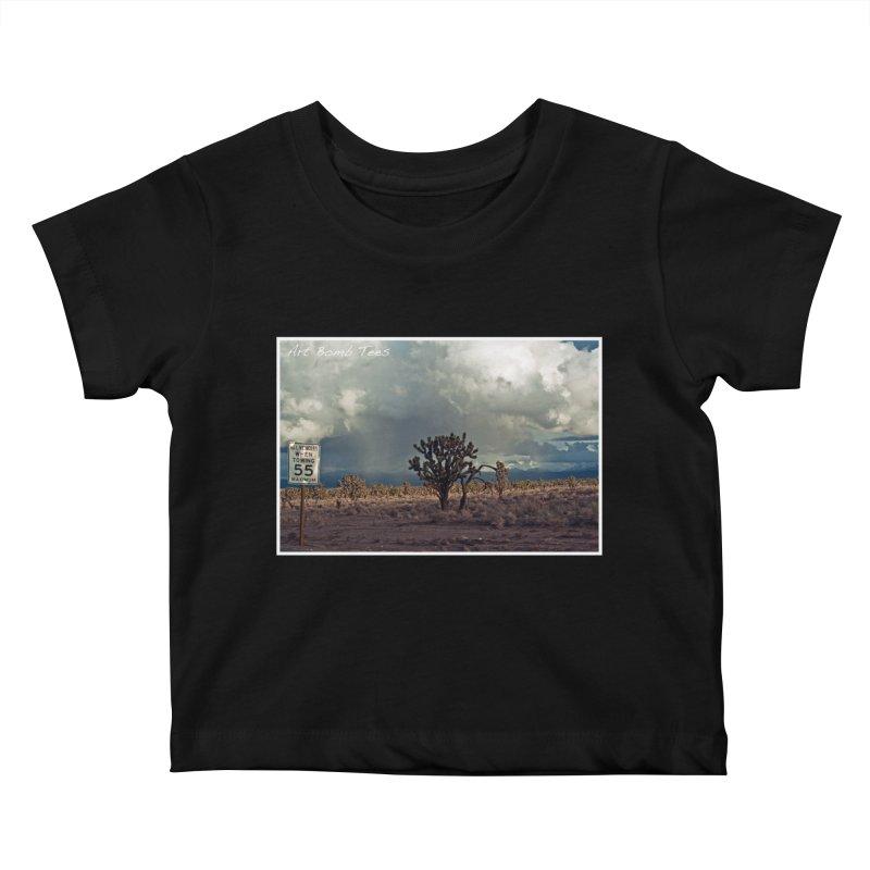55 Kids Baby T-Shirt by artbombtees's Artist Shop