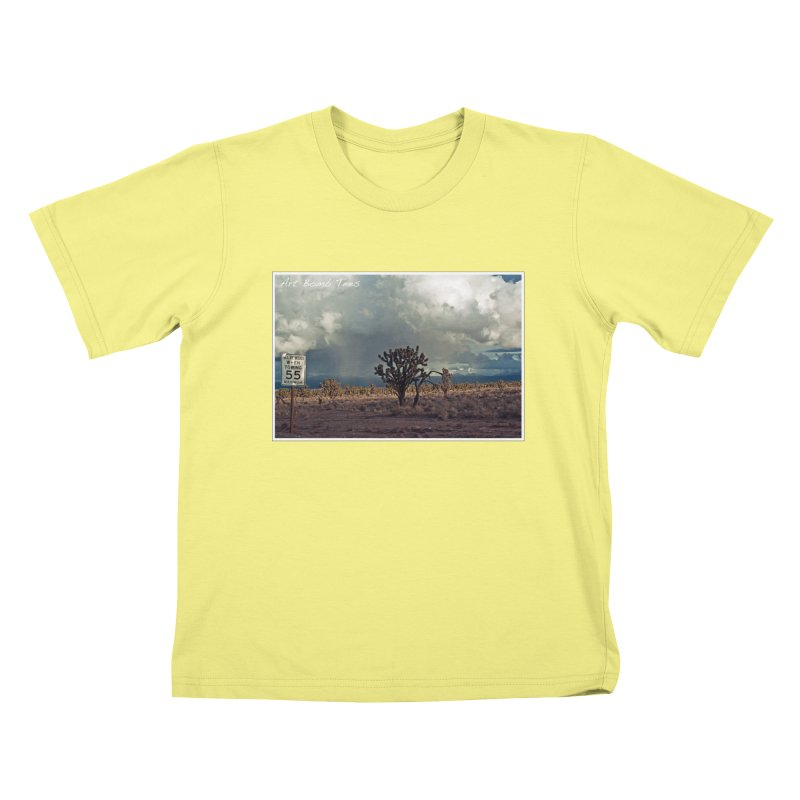 55 Kids T-shirt by artbombtees's Artist Shop