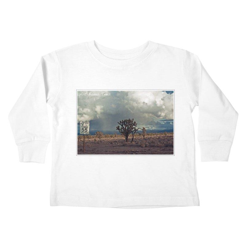 55 Kids Toddler Longsleeve T-Shirt by artbombtees's Artist Shop