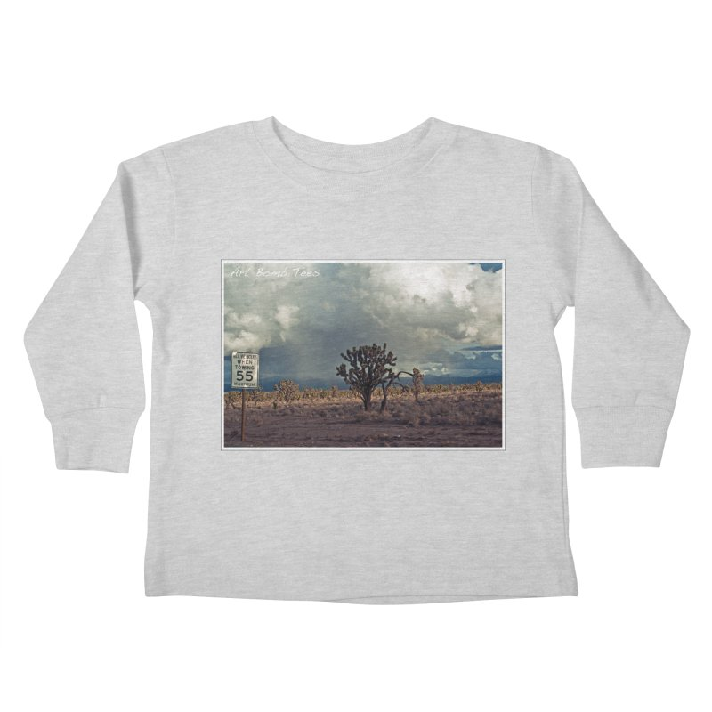55 Kids Toddler Longsleeve T-Shirt by artbombtees's Artist Shop