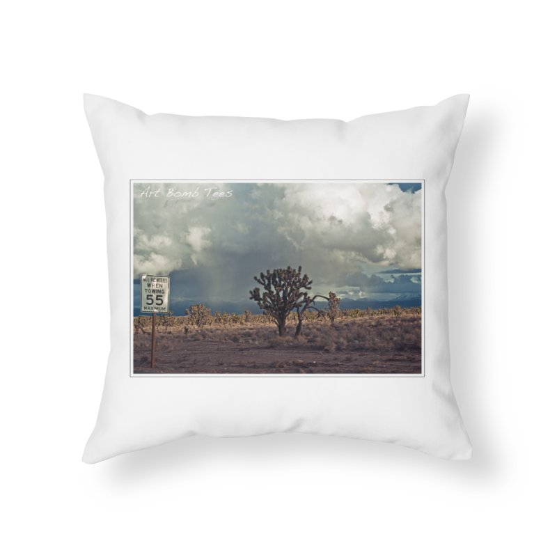 55 Home Throw Pillow by artbombtees's Artist Shop