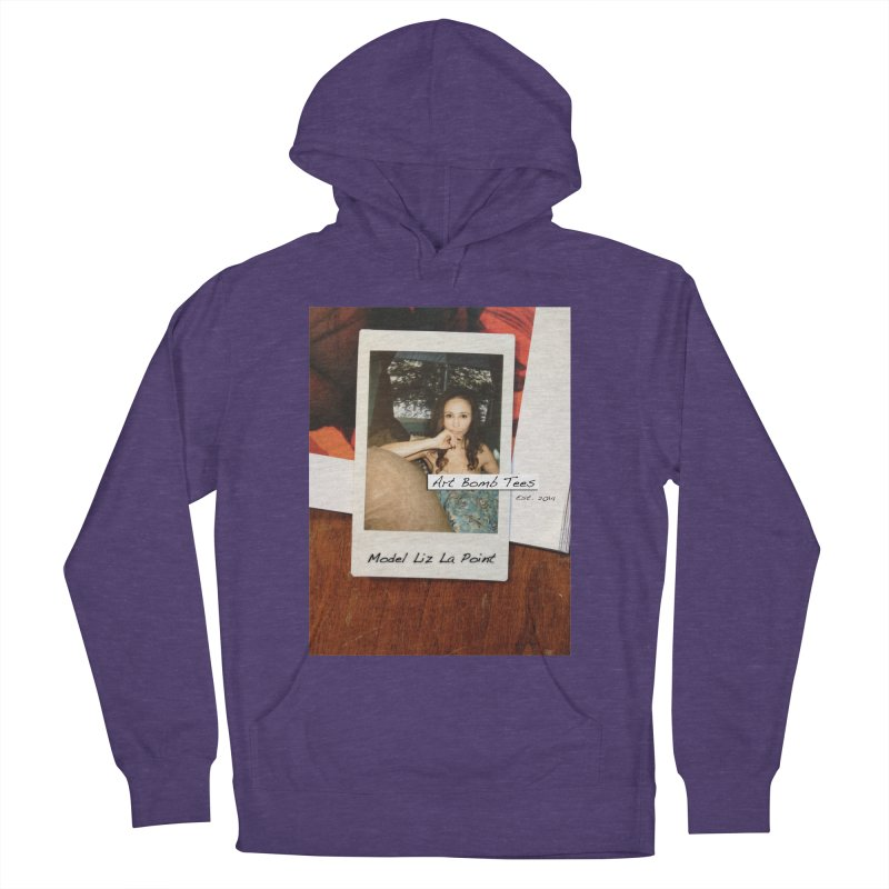 Liz La Point - Instant Muse Men's French Terry Pullover Hoody by artbombtees's Artist Shop