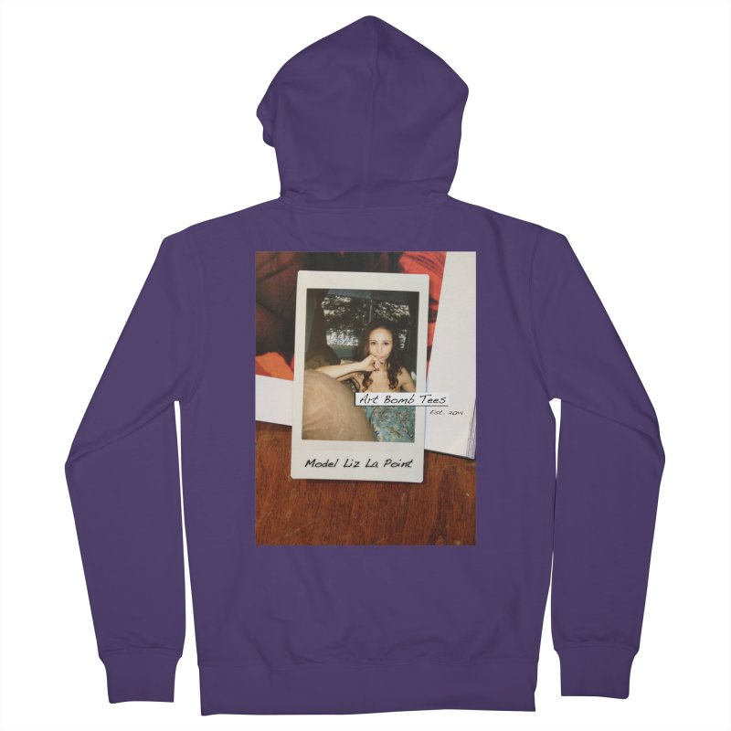 Liz La Point - Instant Muse Women's French Terry Zip-Up Hoody by artbombtees's Artist Shop