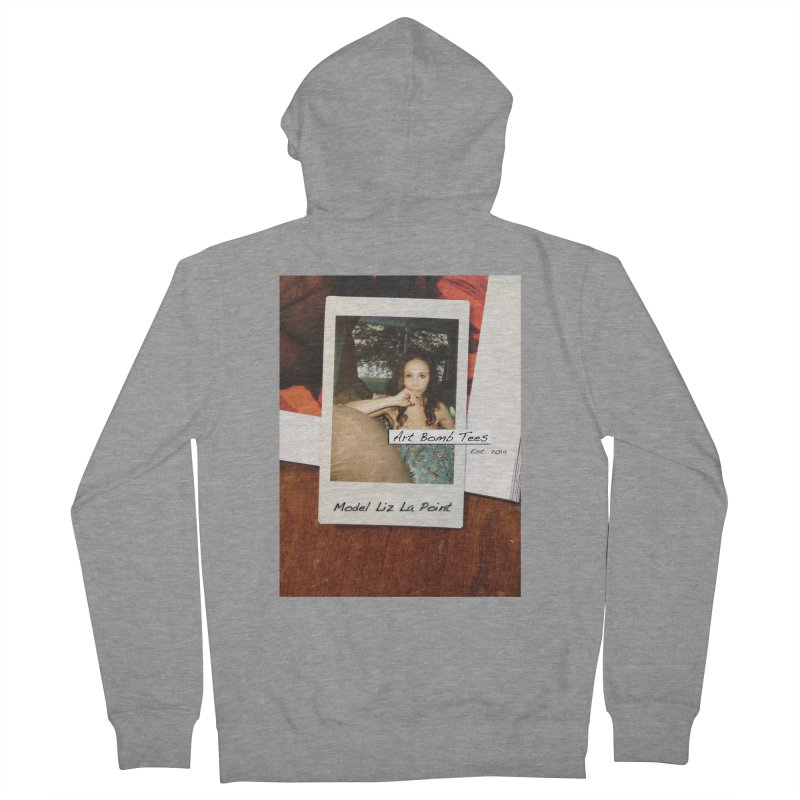 Liz La Point - Instant Muse Men's French Terry Zip-Up Hoody by artbombtees's Artist Shop