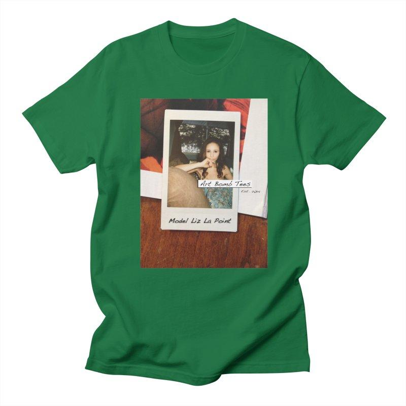 Liz La Point - Instant Muse Men's Regular T-Shirt by artbombtees's Artist Shop