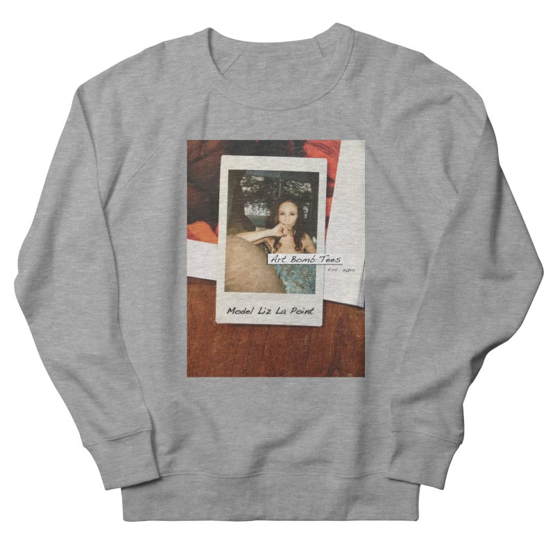 Liz La Point - Instant Muse Women's French Terry Sweatshirt by artbombtees's Artist Shop