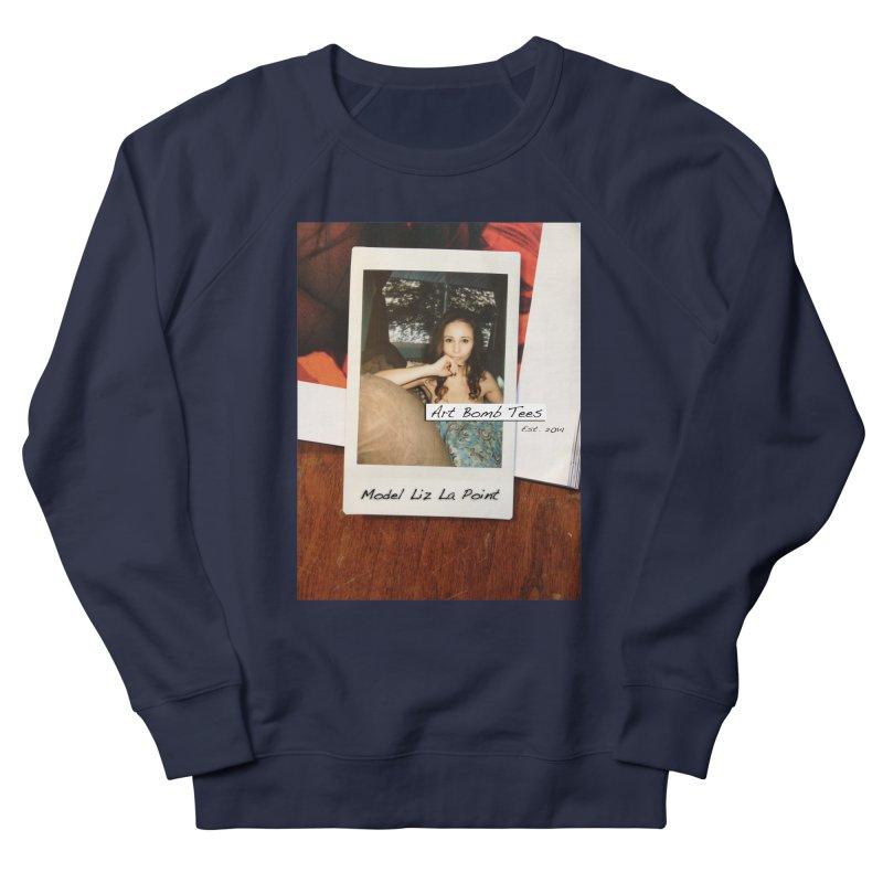 Liz La Point - Instant Muse Men's French Terry Sweatshirt by artbombtees's Artist Shop