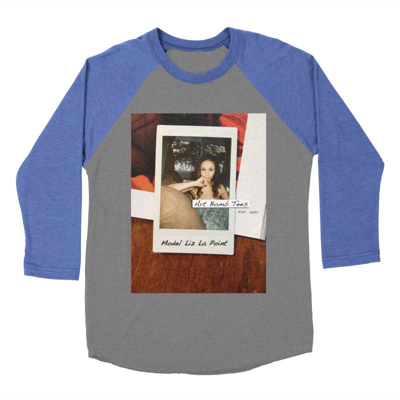 Liz La Point - Instant Muse Women's Baseball Triblend Longsleeve T-Shirt by artbombtees's Artist Shop