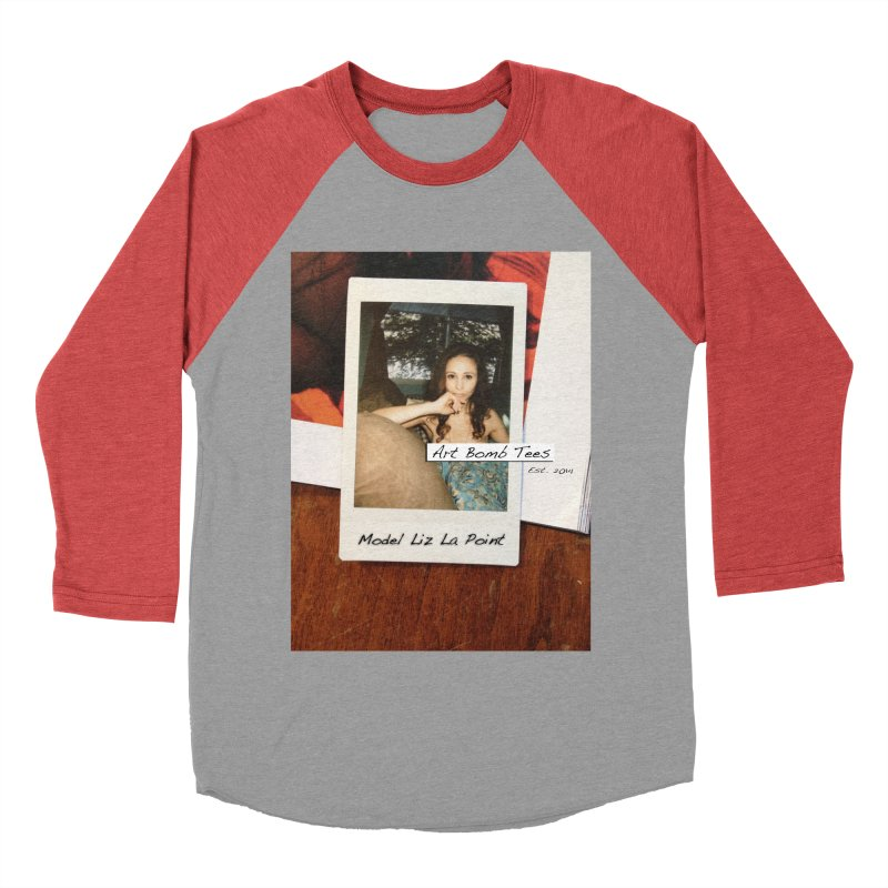 Liz La Point - Instant Muse Women's Baseball Triblend T-Shirt by artbombtees's Artist Shop