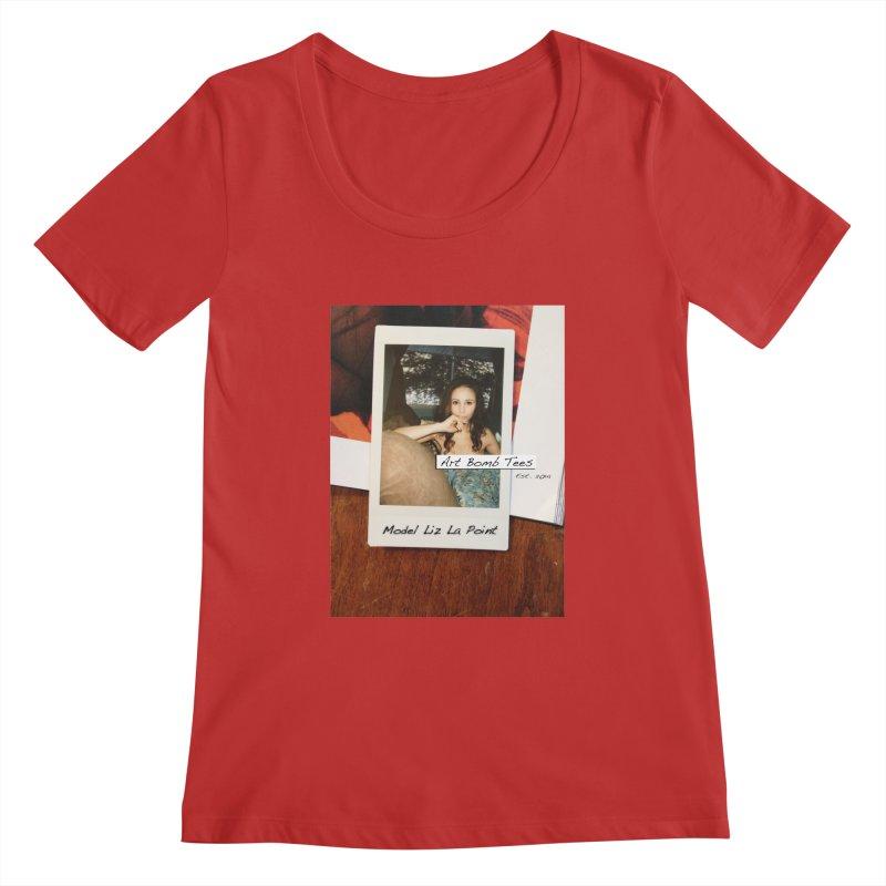 Liz La Point - Instant Muse Women's Regular Scoop Neck by artbombtees's Artist Shop