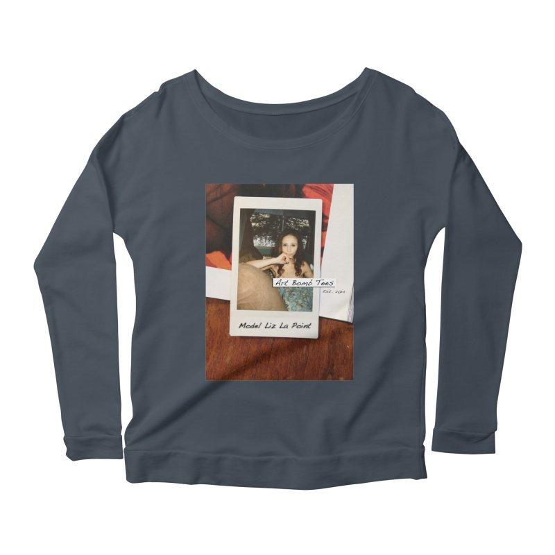 Liz La Point - Instant Muse Women's Scoop Neck Longsleeve T-Shirt by artbombtees's Artist Shop