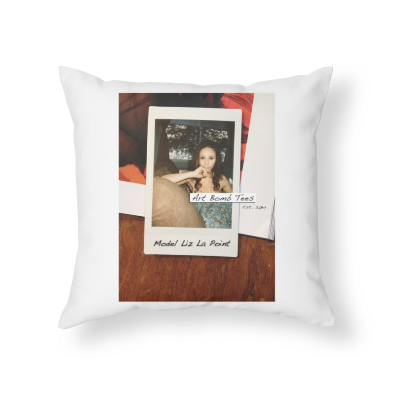 Liz La Point - Instant Muse Home Throw Pillow by artbombtees's Artist Shop