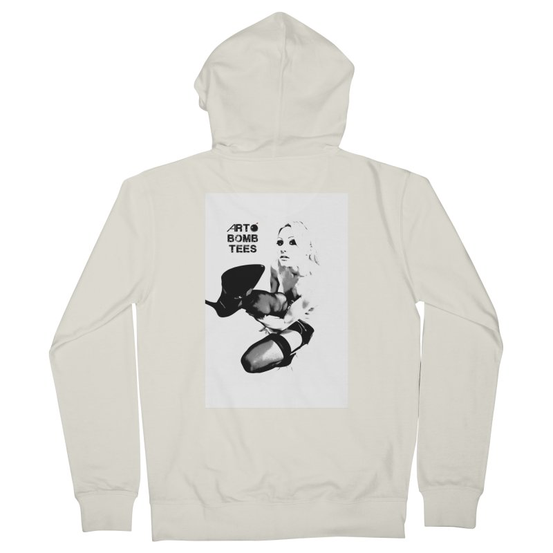 Kickin' It Men's French Terry Zip-Up Hoody by artbombtees's Artist Shop