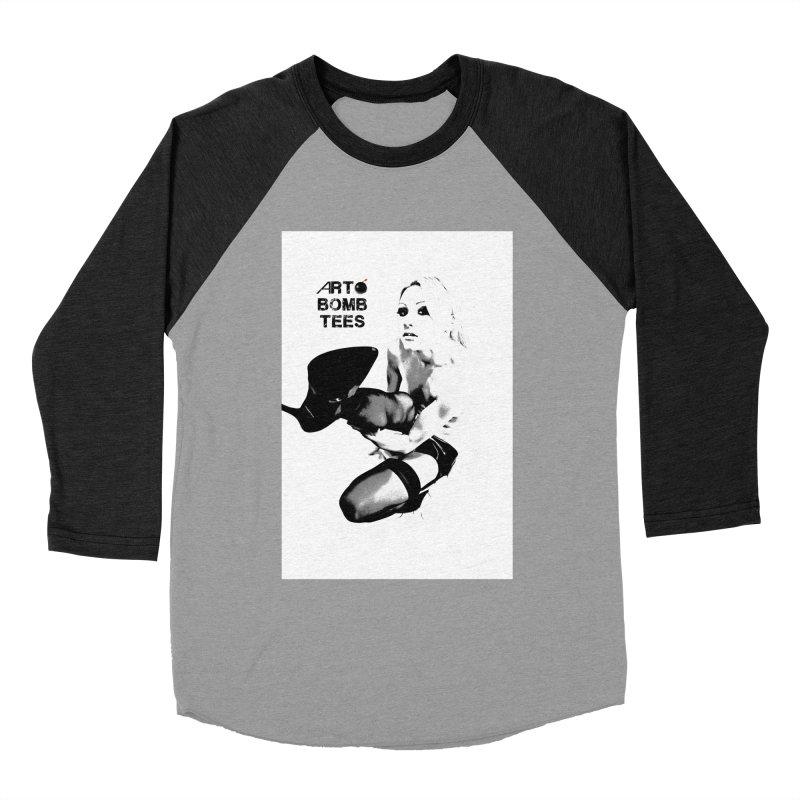Kickin' It Women's Baseball Triblend Longsleeve T-Shirt by artbombtees's Artist Shop