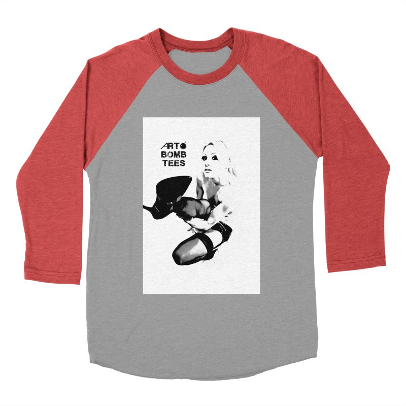 Kickin' It Men's Baseball Triblend T-Shirt by artbombtees's Artist Shop