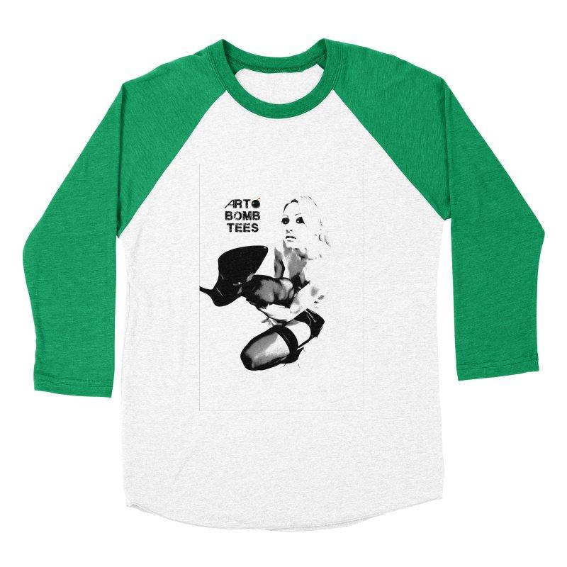 Kickin' It Men's Baseball Triblend Longsleeve T-Shirt by artbombtees's Artist Shop