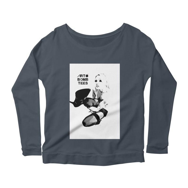 Kickin' It Women's Scoop Neck Longsleeve T-Shirt by artbombtees's Artist Shop
