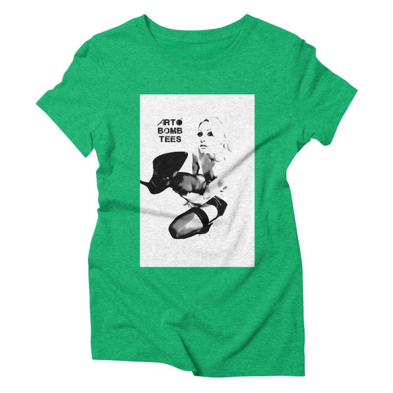 Kickin' It Women's Triblend T-Shirt by artbombtees's Artist Shop