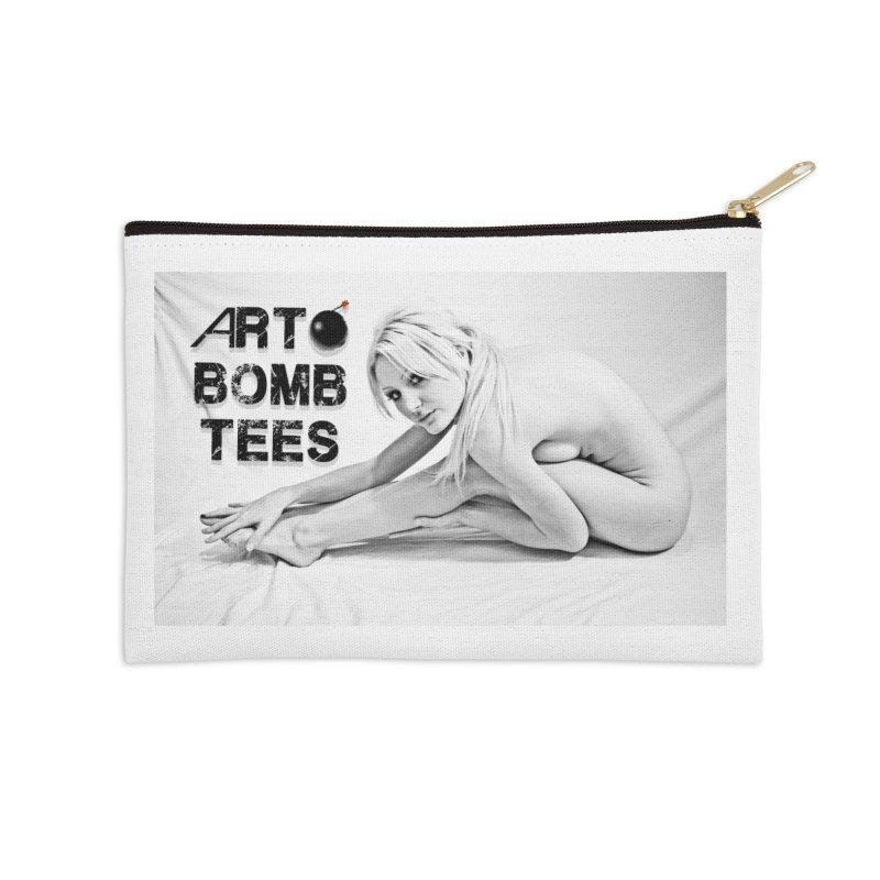 Noelle Accessories Zip Pouch by artbombtees's Artist Shop