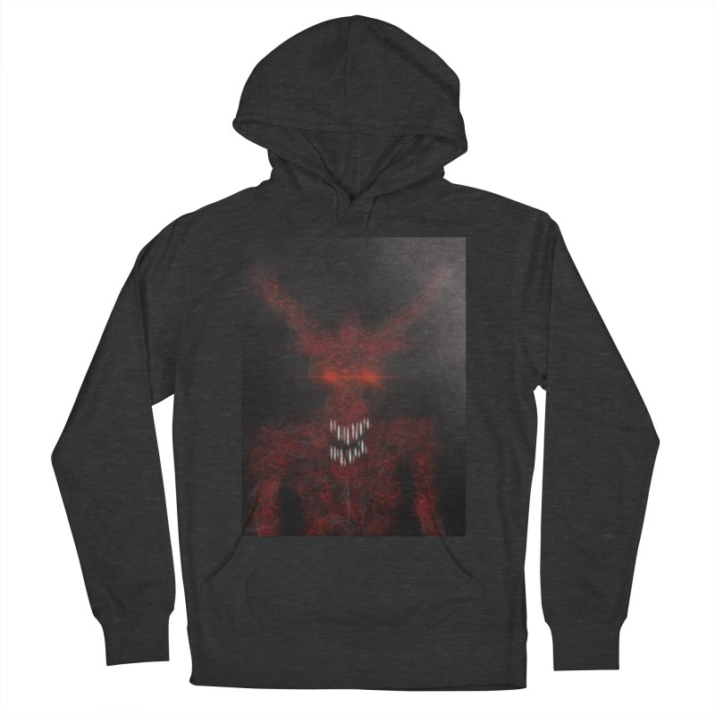 EVIL Women's French Terry Pullover Hoody by artbombtees's Artist Shop