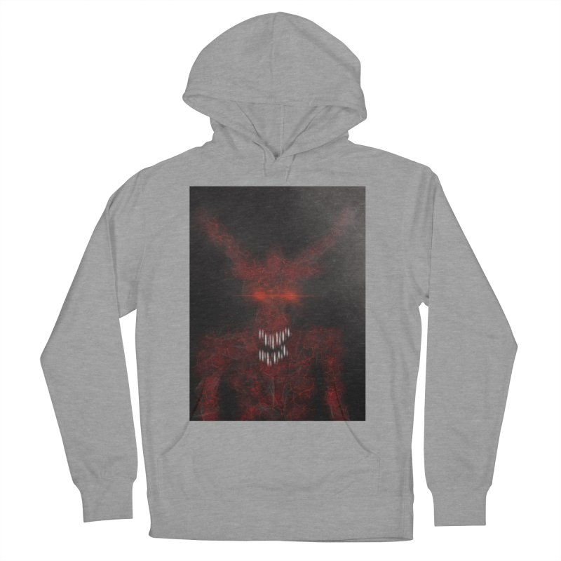 EVIL Men's French Terry Pullover Hoody by artbombtees's Artist Shop