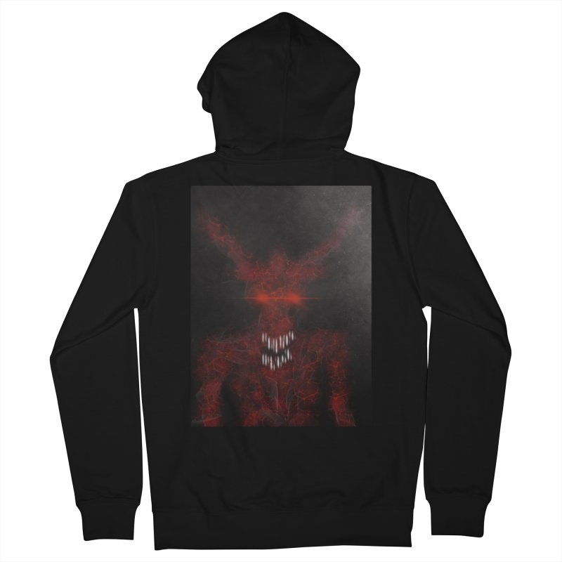 EVIL Women's French Terry Zip-Up Hoody by artbombtees's Artist Shop