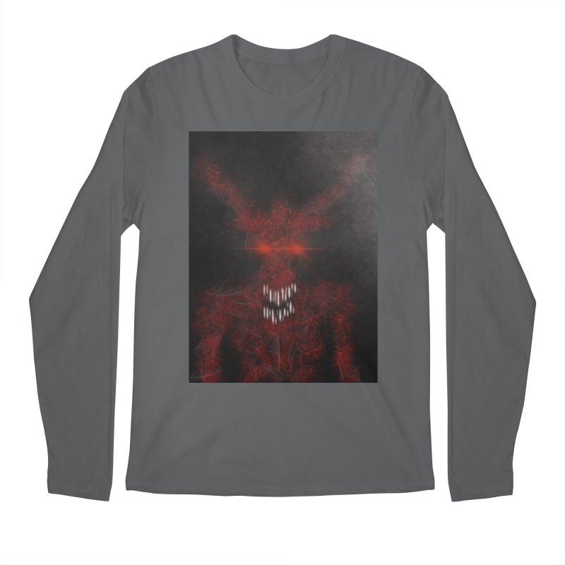 EVIL Men's Regular Longsleeve T-Shirt by artbombtees's Artist Shop