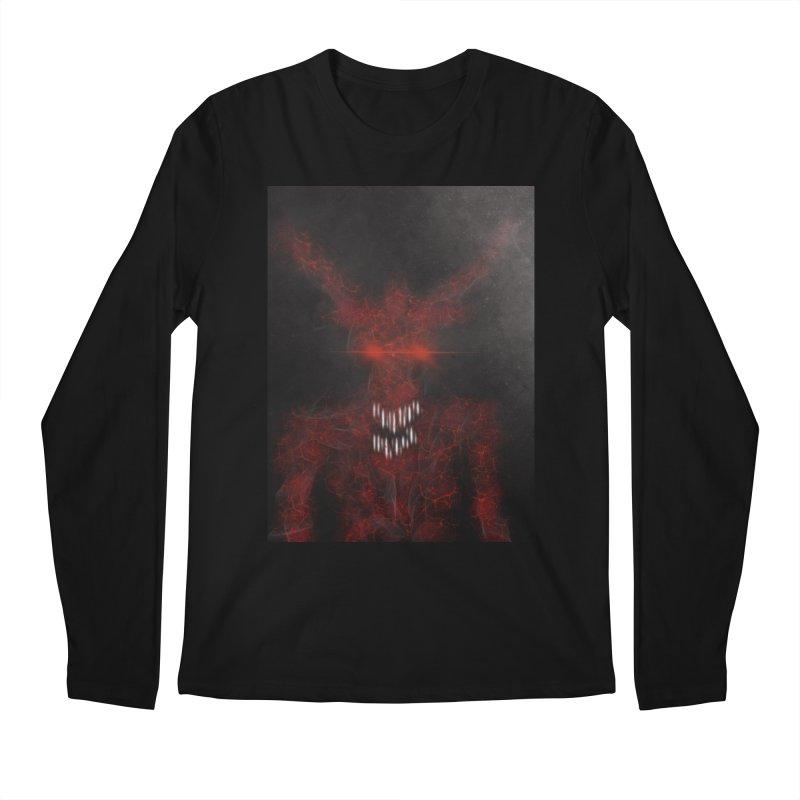 EVIL Men's Regular Longsleeve T-Shirt by artbombtees's Artist Shop