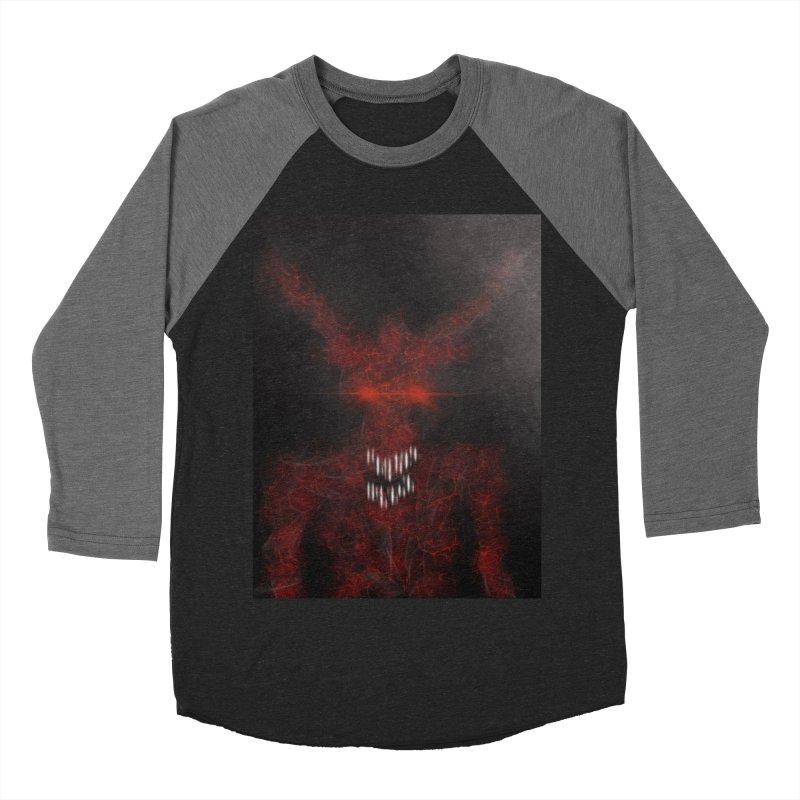 EVIL Men's Baseball Triblend T-Shirt by artbombtees's Artist Shop