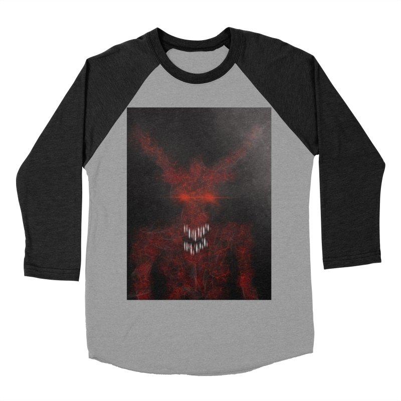 EVIL Men's Baseball Triblend Longsleeve T-Shirt by artbombtees's Artist Shop